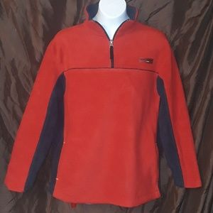 Gap Casual Pullover Sweater with pockets Red Black